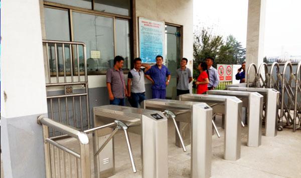 化工厂员工考勤通道-徐州门禁一卡通案例