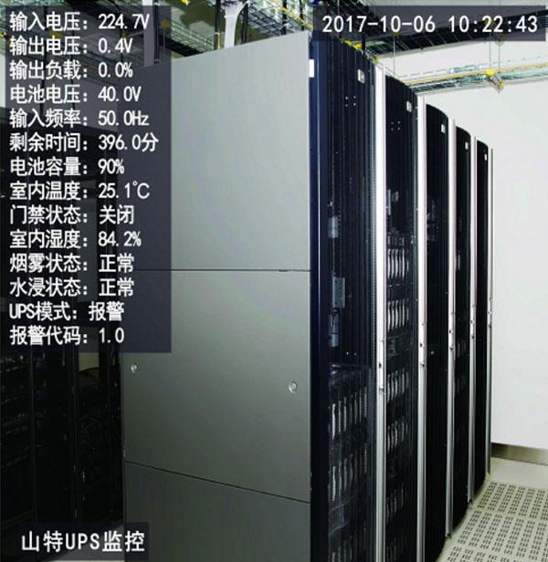 UPS监控摄像机-机房动环监测