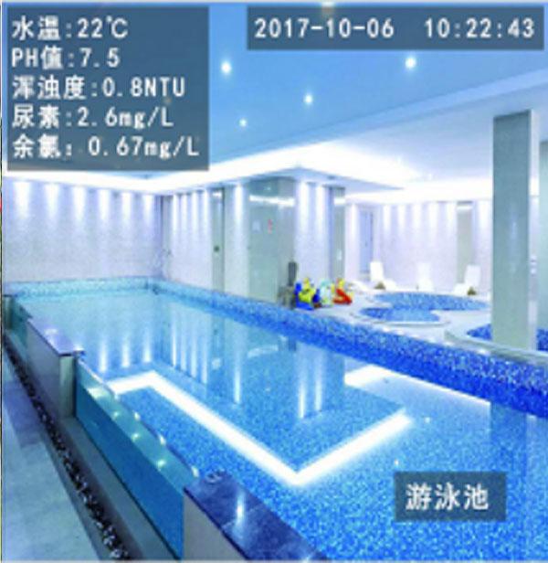 水质监测摄像机-泳池水质监测