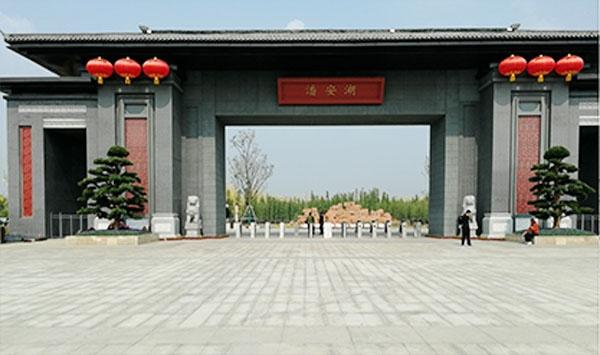徐州潘安湖智能人行通道