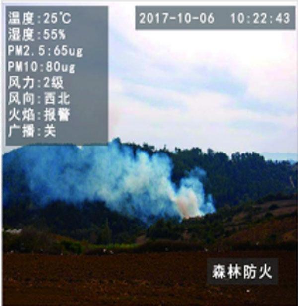 火焰识别摄像机-森林防火